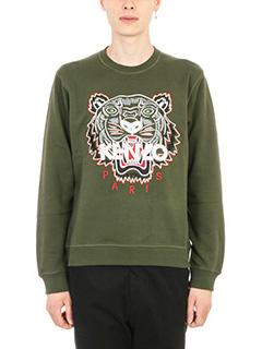 Kenzo-Tiger embroidered Sweatshirt