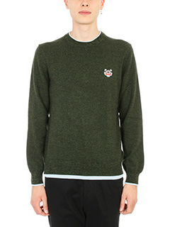 Kenzo-Tiger Crest Merino Sweater