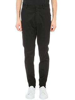 Kenzo-Black Cotton Pant