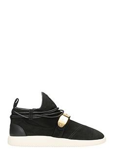 Giuseppe Zanotti-Sneakers Hyden in suede nera