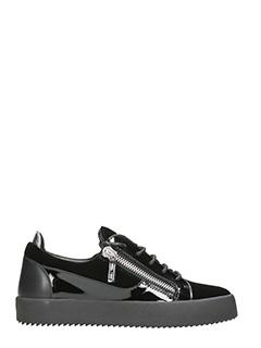 Giuseppe Zanotti-Sneakers in velluto nero