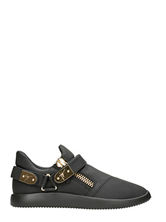 Giuseppe Zanotti-Black leather Runner sneakers