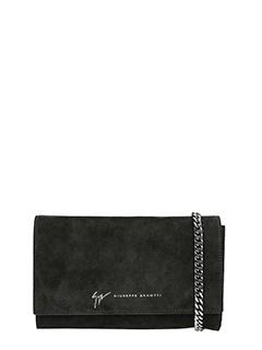 Giuseppe Zanotti-Black Suede pochette