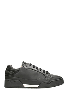 Stella McCartney-chain low black sneakers