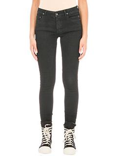 Rick Owens DRKSHDW-jeans Detroit cut in denim nero