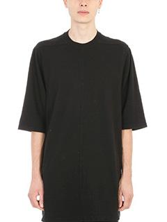 Rick Owens DRKSHDW-T-shirt Jumbo in jersey nero