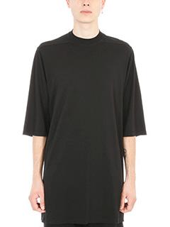 Rick Owens DRKSHDW-T-shirt Jumbo in cotone nero