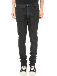 Rick Owens DRKSHDW-Jeans in denim nero