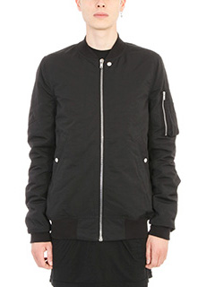 Rick Owens DRKSHDW-Bomber Flight in cotone nero