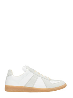 Maison Margiela-Replica white and grey sneakers