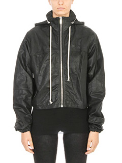 Rick Owens-Windbreaker black bomber