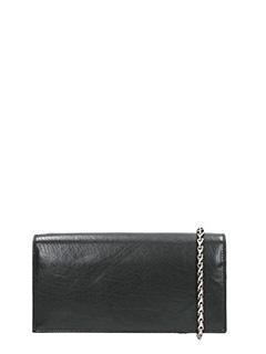 Rick Owens-Black Medium Crossbody Wallet Bag