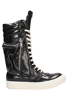 Rick Owens-Cargo Basket boots sneakers