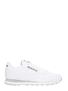Reebok-Classic white leather sneakers