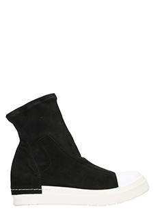 Cinzia Araia-Sneakers Stretch Slip On in tessuto nero