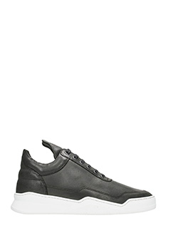 Filling Pieces-Low Top Ghost Lane Sneakers