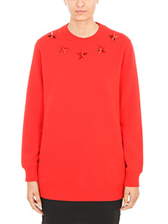 Givenchy-Felpa in cotone  rosso