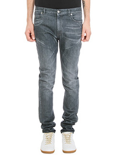 Maison Margiela-Jeans in denim grigio