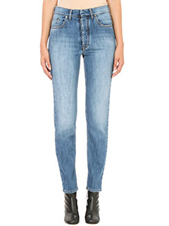 Maison Margiela-Jeans in denim blue