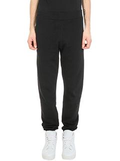 Maison Margiela-Jogging black cotton pants