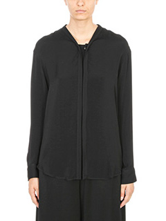 Maison Margiela-Black silk Shirt