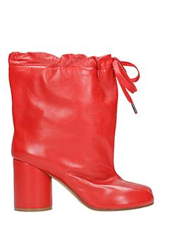 Maison Margiela-Tabi drawstring ankle boots