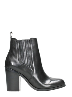 Windsor Smith-Tronchetti Letty in pelle nera