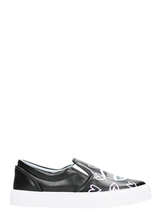 Chiara Ferragni-Candy Flirting black slip-on