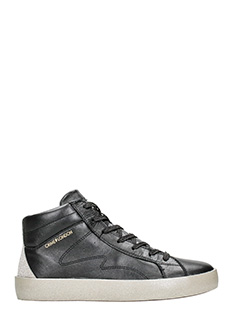 Crime-Mid black Sneakers