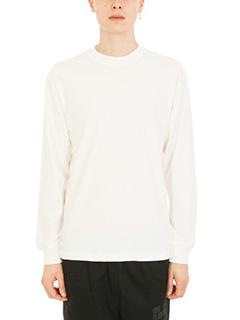 Alexander Wang-T-shirt High Twist in cotone bianco