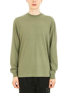 Alexander Wang-T-shirt High Twist in jersey verde