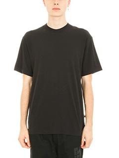Alexander Wang-T-shirt High Twist in cotone nero
