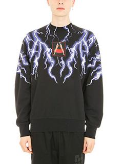 Alexander Wang-Lightning Collage black cotton sweatshirt