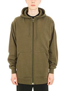 Alexander Wang-Vintage Combo green cotton hoodie