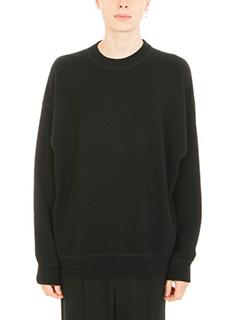 Alexander Wang-Crewneck black wool pullover