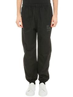 Alexander Wang-cotton gabardine black Chefs pants