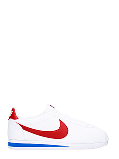 Nike-Classic Cortez white leather sneakers