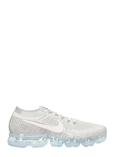 Nike-Sneakers Air Vapormax Flyknit in tessuto grigio
