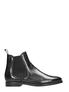 Dei Colli-Black leather boots