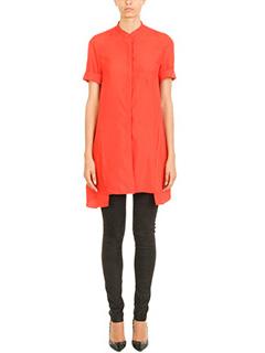 Neil Barrett-Orange silk shirt