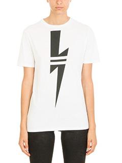 Neil Barrett-Lightning Bolt T-shirt