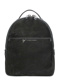 Giuseppe Zanotti-Boston black suede Backpack