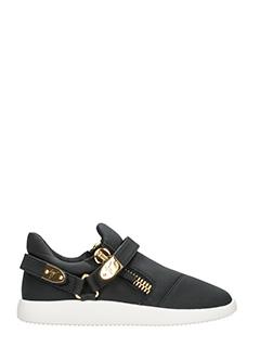 Giuseppe Zanotti-Sneakers Low Top in pelle nera