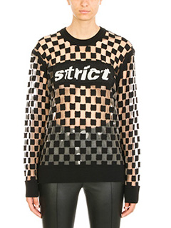 Alexander Wang-Strict Checkboard sweater