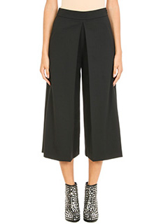 Alexander Wang-High Waisted pleat front trousers