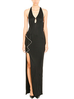 Alexander Wang-black viscose dress