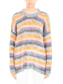 Chloé-Maglia in lana mohair multicolor