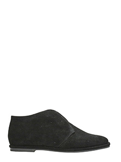 Jeffrey Campbell-Loafers in camoscio nero