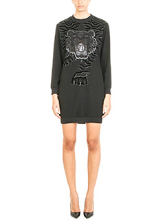 Kenzo-Geo Tiger Sweatshirt Dress