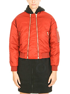 Kenzo-Bomber Elevat Military in nylon ruggine